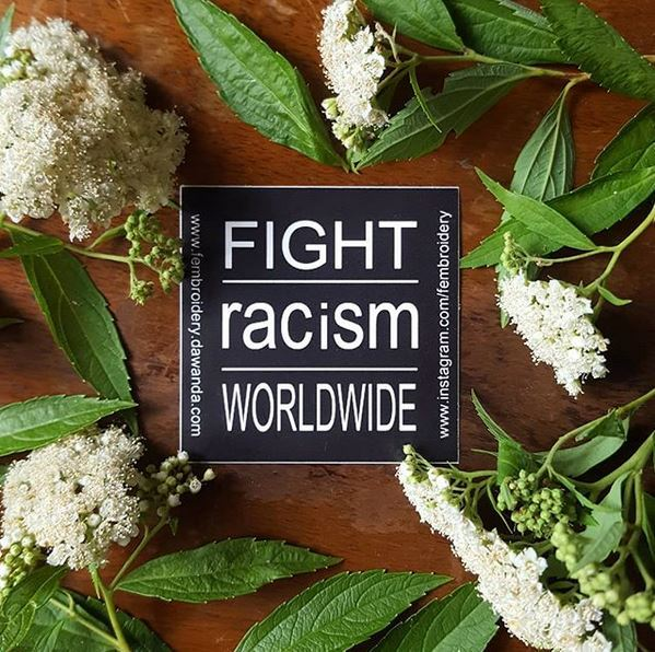 20 Fight Racism Worldwide Sticker