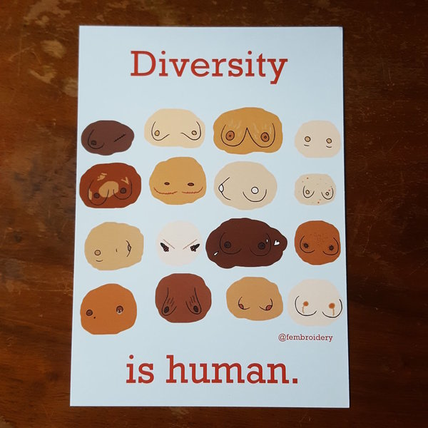 Diversity is human - Breasts